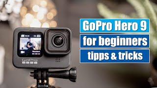 GoPro Hero 9 Black for beginners | first steps | english tutorial [4K]