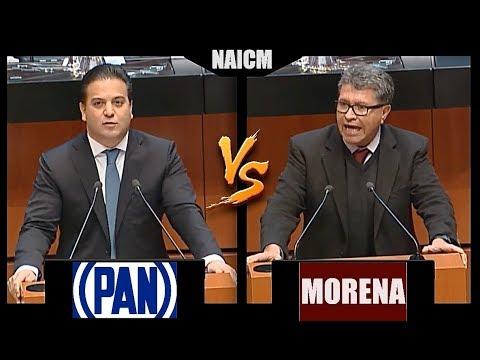 Sen. Ricardo Monreal (MORENA) VS Sen. Damián Zepeda (PAN)