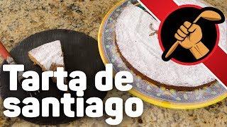 Миндальный торт. Испанский. Tarta de Santiago