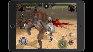 Игра Knights Fight: Medieval Arena геймплей (gameplay) HD качество