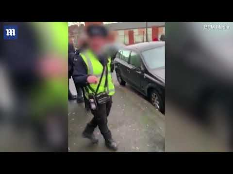 The Woody Show - British Greg Gory Scolds Police for Double Parking