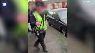Driver rips into traffic wardens for parking on double yellow lines