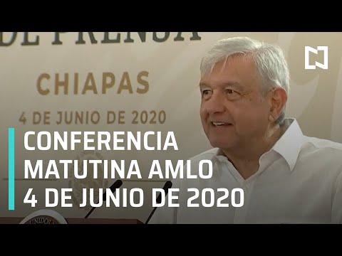 Conferencia matutina AMLO/ 4 de junio de 2020