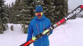 Repeat youtube video 2015 2016 Head Supershape Rally ski review