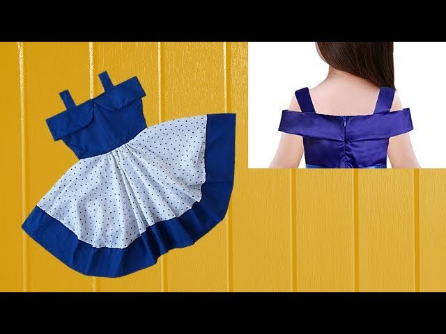 Diy Designer  Baby Frock For 3 to 4 year baby girl  Cutting And Stitching Full Tutorial