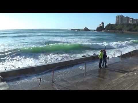 Souriez vous êtes à la côte des basques (biarritz) !