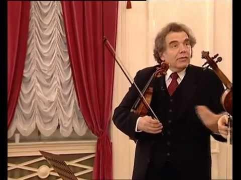Zakhar Bron unterrichtet Beethoven, Romanze für Violine & Orchester F-Dur, Opus 50