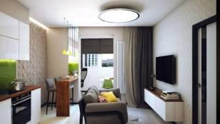 Дизайн проект однокомнатной квартиры студии, кухня с гостинной.(Дизайн проект однокомнатной квартиры. Делаете дизайн проект квартиры ? Это видео Вам поможет. Правильная..., 2015-05-14T18:45:05.000Z)