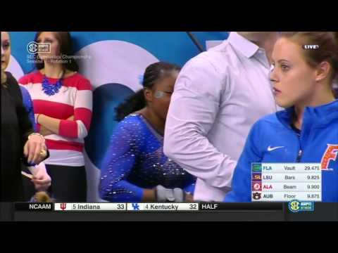 2016 SEC Gymnastics Championships Session 2 720p60 NastiaFan101