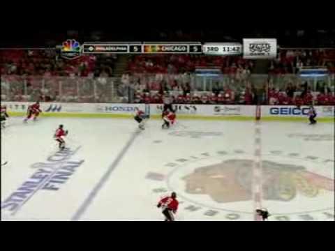 Philadelphia Flyers vs. Chicago Blackhawks - Game 1 Playoffs 2009 - 2010