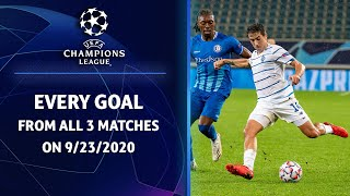 Goal Compilation | 9/23 Champions League Highlights | UCL on CBS Sports