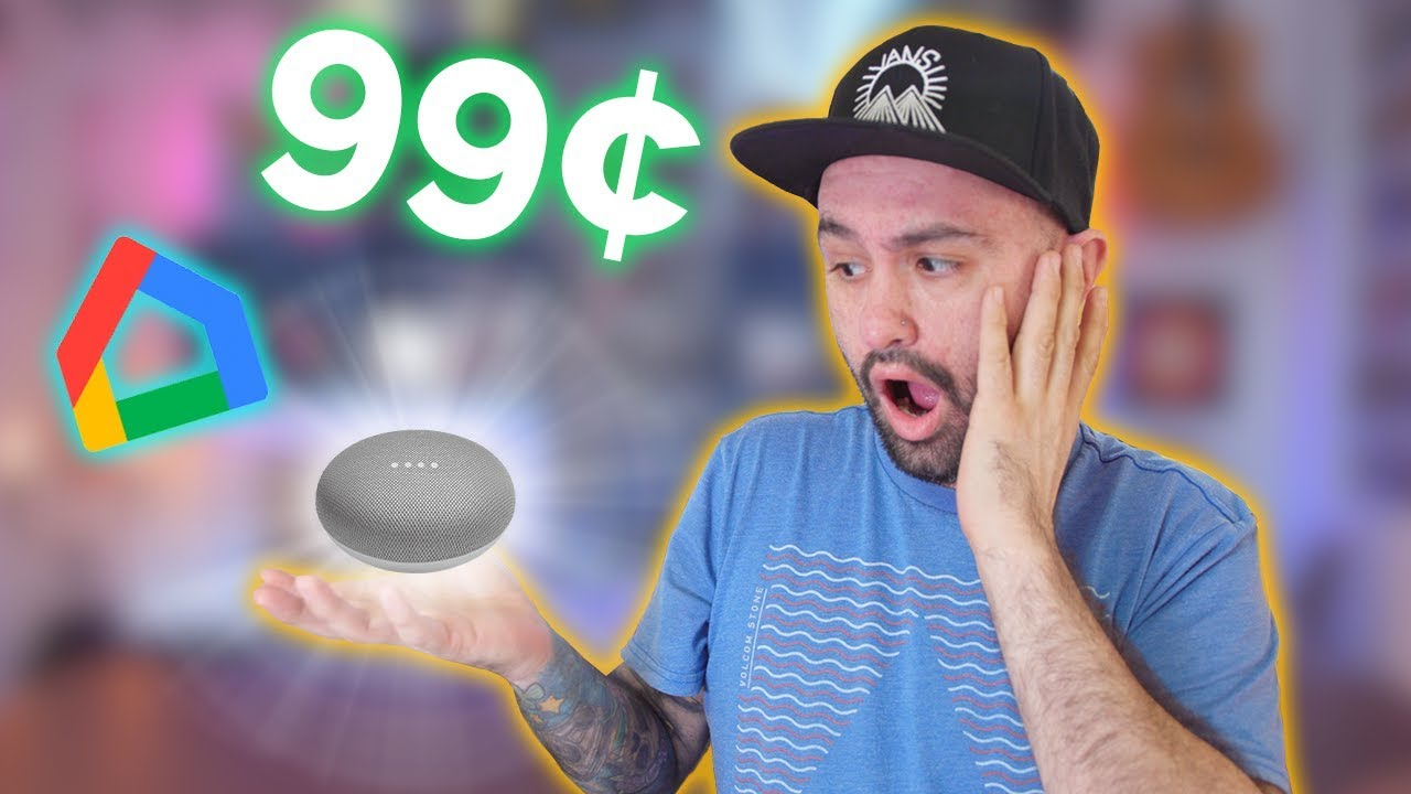 Google Home Mini for $0.99 RIGHT NOW! (Black Friday 2018)