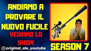 FORTNITE LIVE ITA - SHOP 8 GENNAIO SEASON 7 - NEW PATCH IN ARRIVO!!!