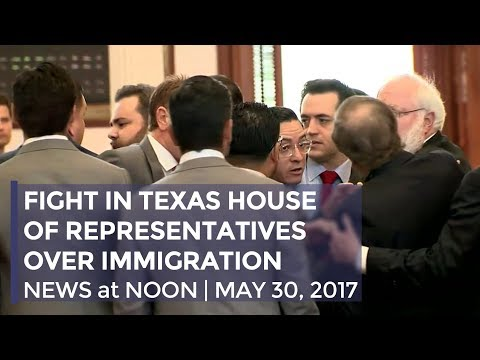 FIGHT IN TEXAS HOUSE OF REPRESENTATIVES OVER IMMIGRATION | MAY 30, 2017