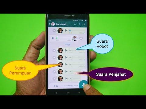Cara Merubah Suara Kamu Di WhatsApp Menjadi Unik