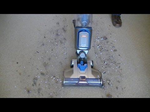Vax Air Cordless Upright Vacuum Cleaner Demonstration & Review