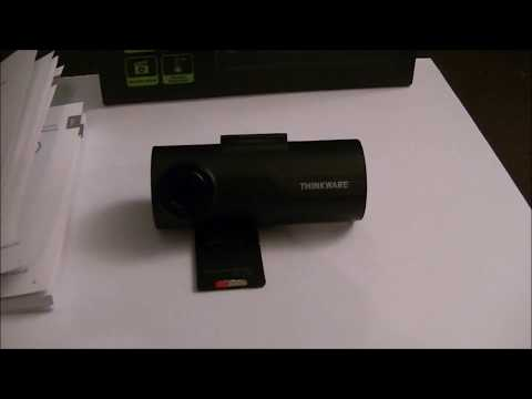Thinkware F50 Dash Cam - Review And Demonstration