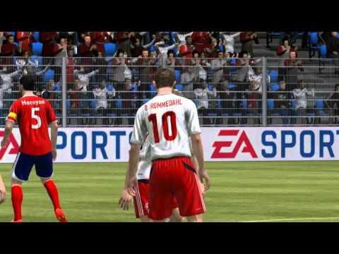 FIFA 12 Армения Дания