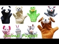 Plush puppet toys for kids unboxing  █▬█ █ ▀█▀ TOYS & CARTOON Learnig Kids