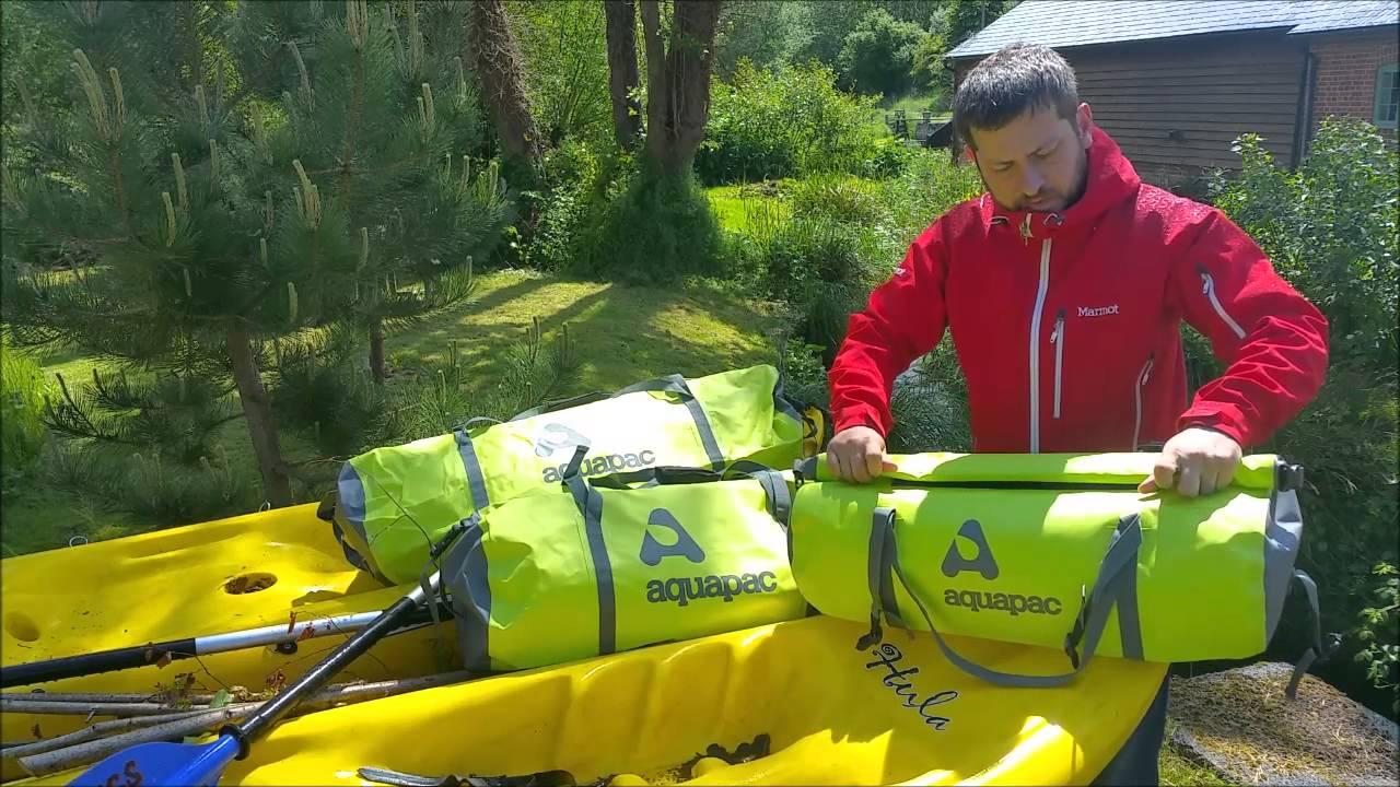 328b6f24c86 Aquapac - TrailProof Waterproof Duffel Bag - YouTube