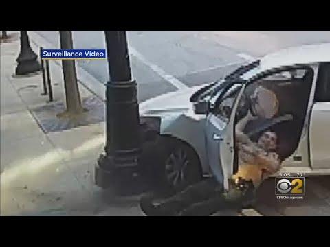 Kydd Joe - Shocking Video Of State Trooper Clinging Onto Getaway Car