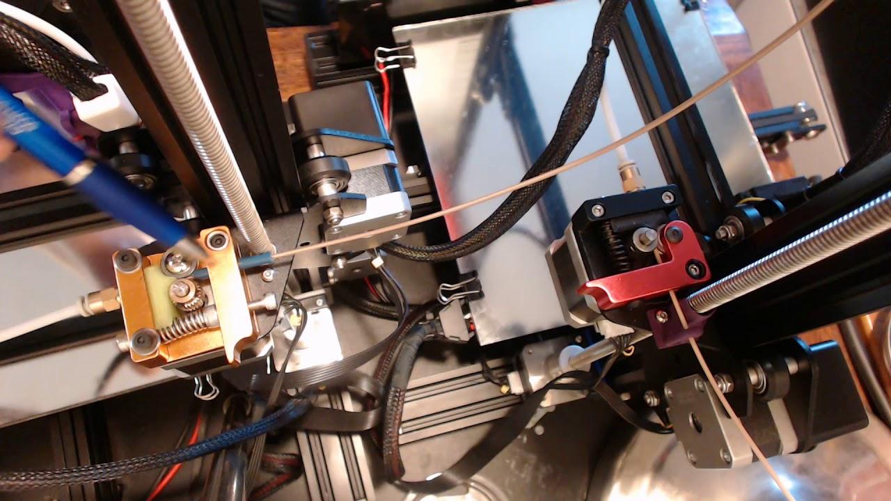 Ender 3 extruder shootout! Macewen 3D vs  TH3D Studio