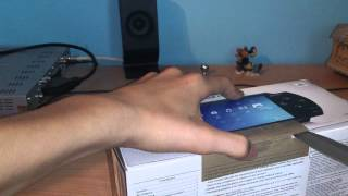 SONY PSP 1003 FAT - unboxing (PL)