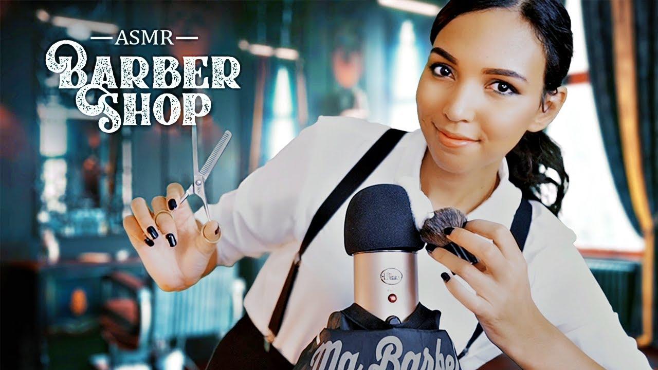 ASMR Francais 💈 Un barbier pour Blue Yeti (Roleplay)