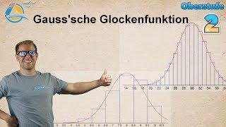 Normalverteilung - Approximation aus Binomialverteilung - Gaußsche Glockenfunktion GTR - Übung 2