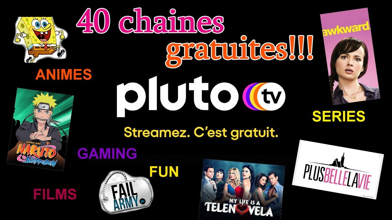 Download Pluto TV : 40 chaines 100% gratuit streaming films anime series. Présentation + test + review