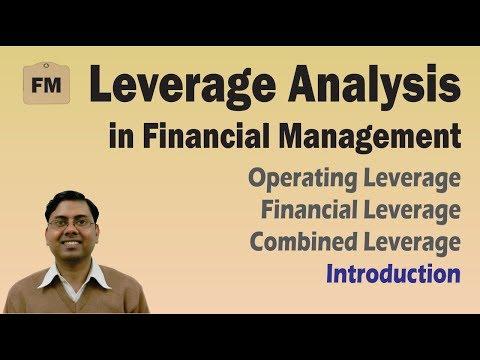 #1 Leverage Analysis (Introduction) ~ Financial Management (FM) for B.Com/M.Com/CA/CS/CMA