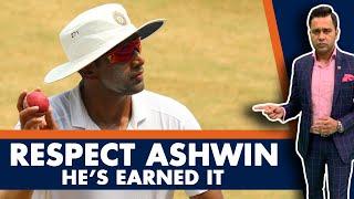 Respect ASHWIN. He's EARNED it.   #AakashVani   Cricket Analysis