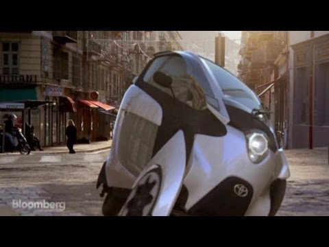 Toyota's Three-Wheeled Car Gets Tested on the Hill