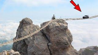 10 Most DANGEROUS Bridges In The World!