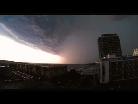 Storm Timelapse, Toronto, Aug 2 2015 - YouTube
