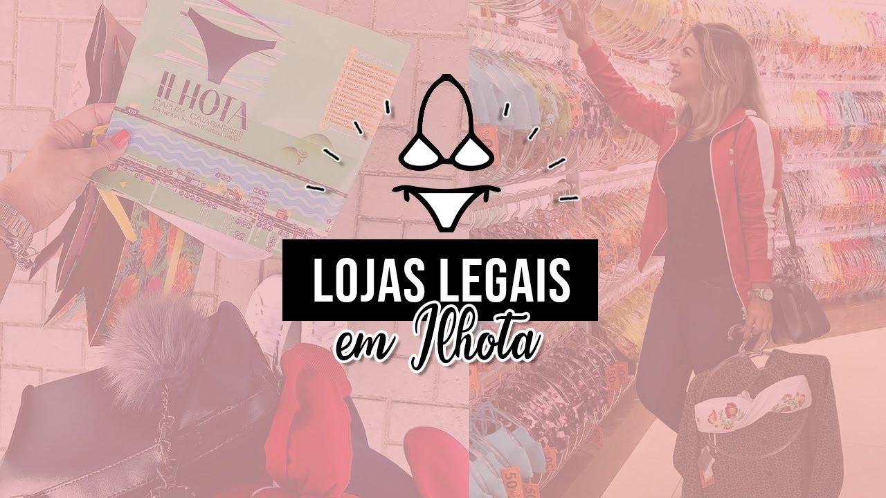 158789ef5659 Dicas de compras em Ilhota: Lojas preferidas - YouTube
