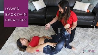 Lower Back Pain Exercises  Stretch And Recover