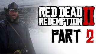 RED DEAD REDEMPTION 2 #2 - I`M TERRIBLE COWBOY | PS4 Gameplay