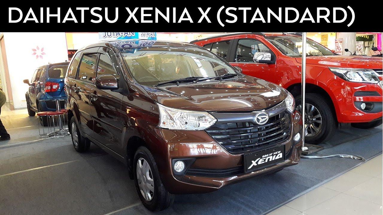 Daihatsu Xenia 1 3 X Standard 2017 Exterior And Interior Youtube