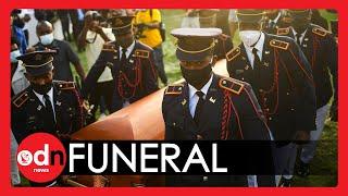 GUNSHOTS Disrupt Funeral of Assassinated Haitian President
