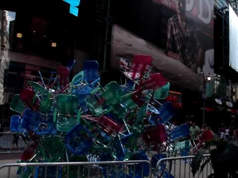 Times Square Public Art - Jason Peters - Now You See It Now You Don