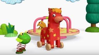 Деревяшки - Спасибо + Классики - развивающие мультфильмы для самых маленьких 0-4