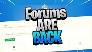 ROBLOX FORUMS ARE BACK? FT. LINKMON99