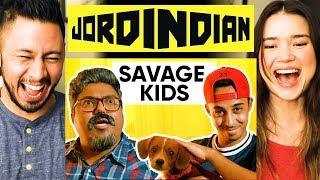 JORDINDIAN | Savage Kids | Jaby's in a JordIndian Video?? | Reaction