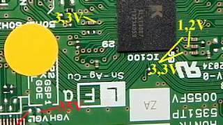 Samsung LED-телевізор Т-Con в RUNTK 5351TP ремонт