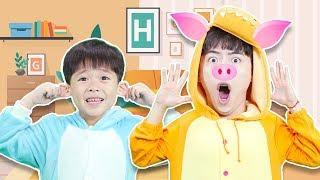 Head Shoulders Knees And Toes Song |교육으로 동요와 아기의 노래를 Mainan dan lagu anak-anak Mashu Vlog