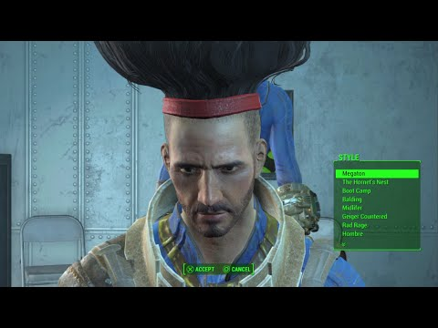Fallout 4 All Hidden Hairstyles All La Coiffe Magazine