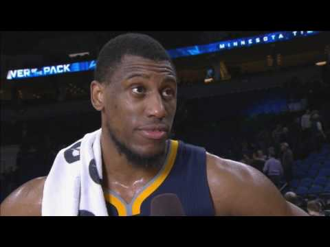 Thaddeus Young compliments Wolves