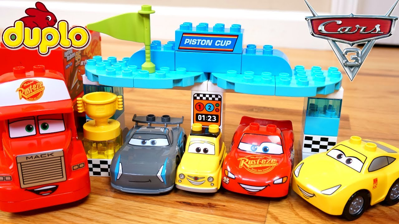 Lego Radiator disney cars 3 lego duplo family playset piston cup race maters