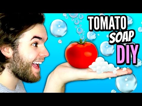 DIY TOMATO SOAP | How To Make Timato Soaps Tutorial! | Wash Your Hands With Fruit!